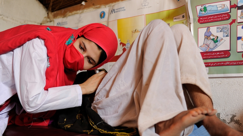 International Medical Corps has trained thousands of midwives in Afghanistan since 2007