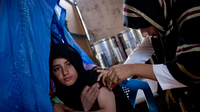 International Medical Corps operates 9 clinics for returning refugees in Afghanistan, serving over 250,000 people