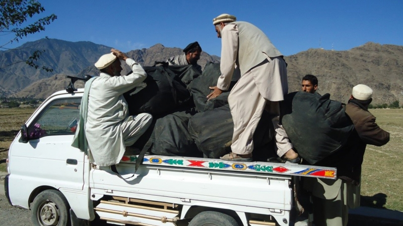 teams deliver supplies after Afghanistan earthquake