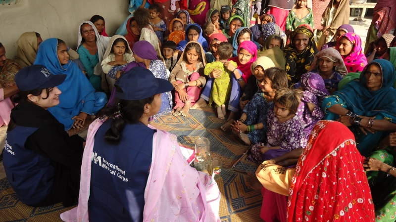 Our teams of community educators speak to women and children about staying healthy and avoiding disease