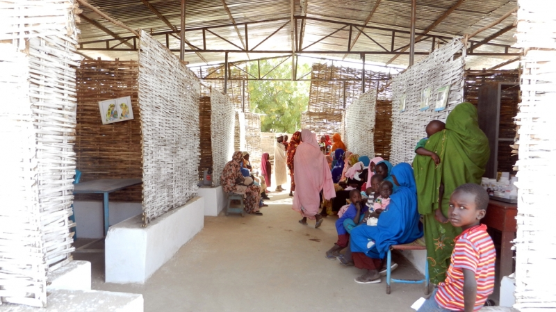 Our clinics in Darfur see an average of 35,000 patients per month