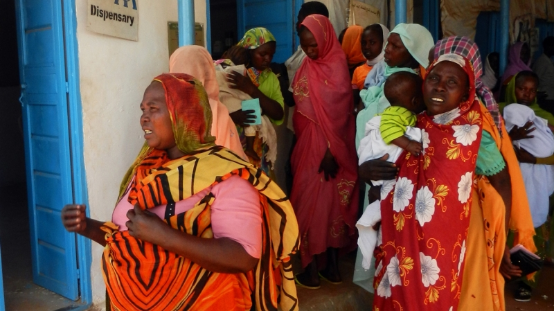 In 2012 we distributed over 10,000 clean delivery kits to help the women of Darfur to give birth safely