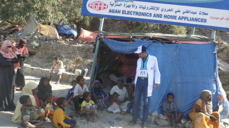 Kais assesses situation for IDPs in Yemen