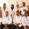 Our team of doctors and nurses provide a range of healthcare services at Galkayo Hospital.