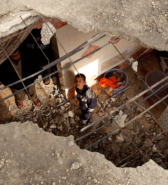 breaking the silence gaza tile copyright Ibraheem Abu Mustafa / Reuters