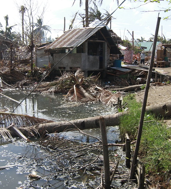 philippines after typhoon haiyan tile